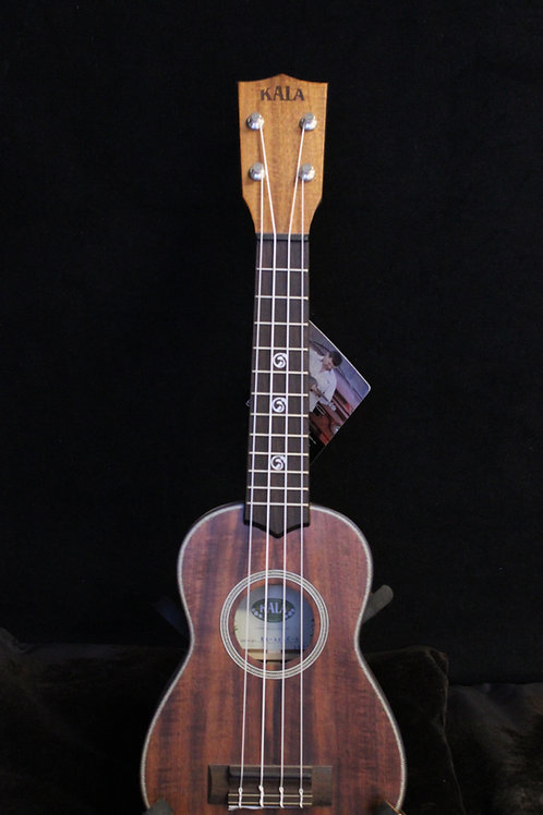 Kala All Solid Acacia Soprano
