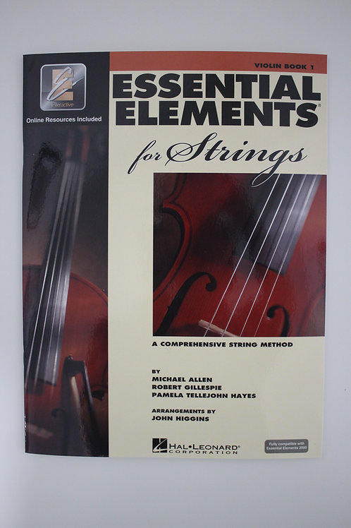 Essential Elements: A Comprehensive String Method, Violin Book 1 (Saxe, 5th)