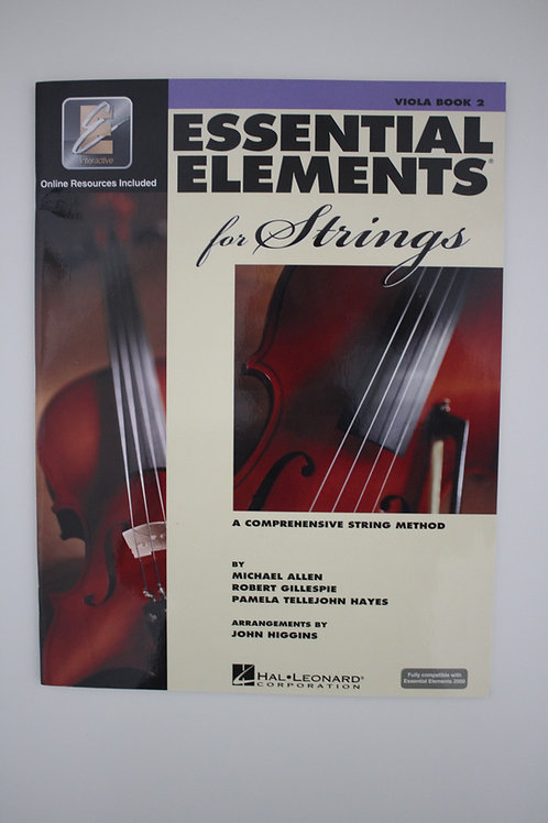 Essential Elements: A Comprehensive String Method, Viola Book 2(Saxe, 6th & 7th)