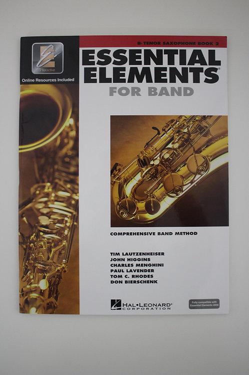 Essential Elements: Comprehensive Band Method, Tenor Saxophone Book 2