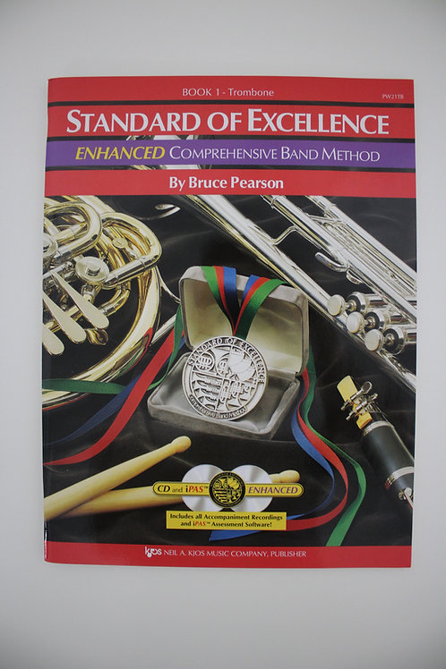 Standard Of Excellence: Enhanced Comprehensive Band Method, Trombone Book 1