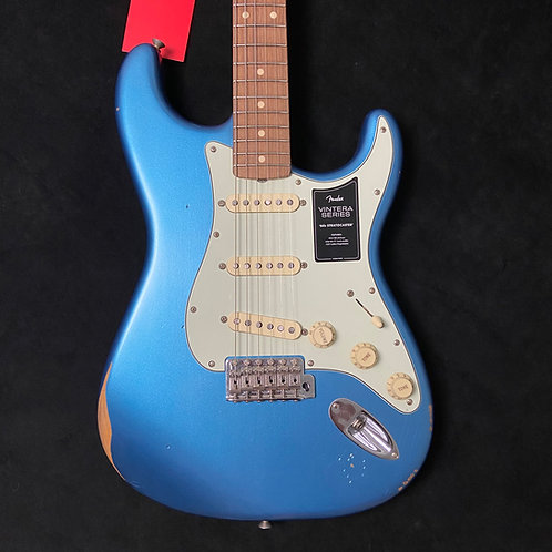 Fender Vintera Road Worn 60s Stratocaster - Lake Placid Blue