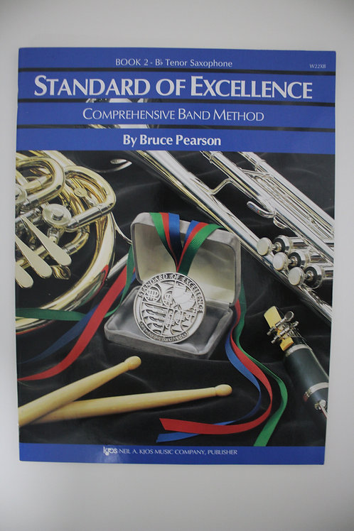 Standard Of Excellence: Comprehensive Band Method, Tenor Sax Book 2