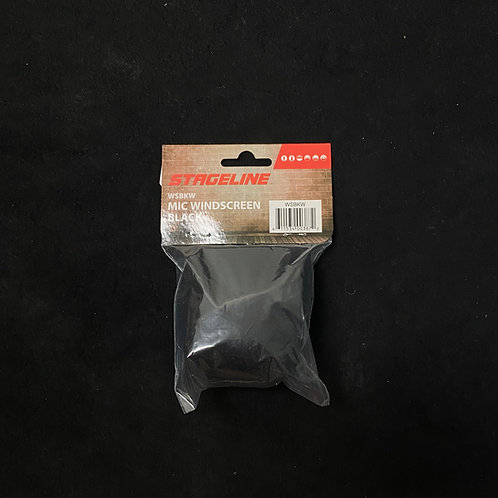 Stageline Microphone Windscreen - Black