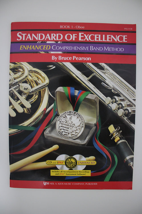 Standard Of Excellence: Enhanced Comprehensive Band Method, Oboe Book 1