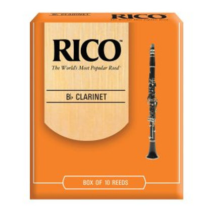 Rico Clarinet Reeds - 10 Pack