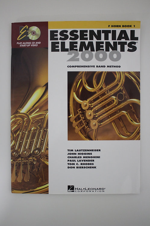 Essential Elements: French Horn Book 1