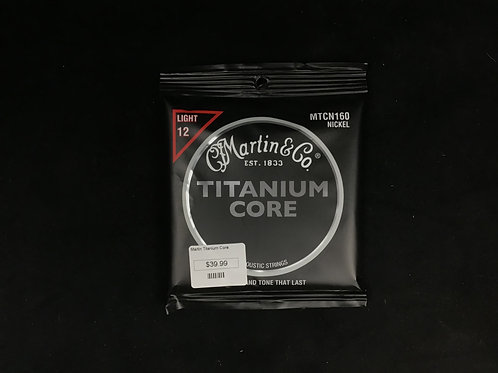 Martin Titanium core Light-12's