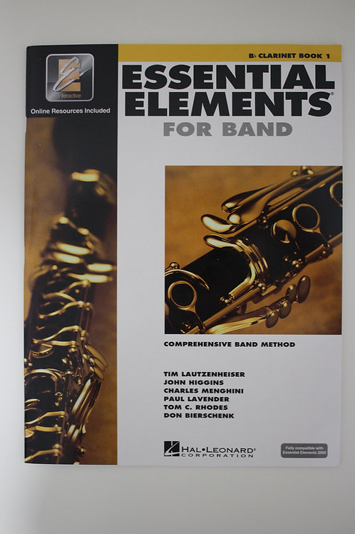 Essential Elements: Comprehensive Band Method, Clarinet Book 1