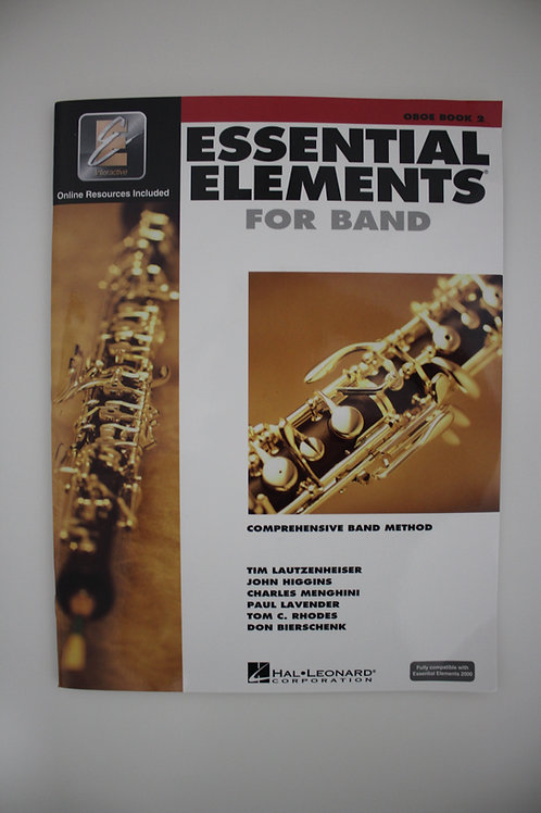 Essential Elements: Comprehensive Band Method, Oboe Book 2