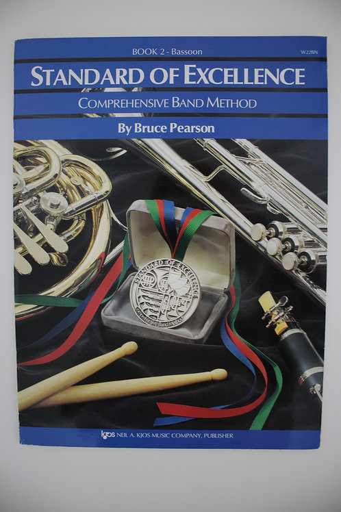 Standard Of Excellence: Comprehensive Band Method, Bassoon Book 2