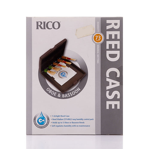 Rico Reed Case for Oboe and Bassoon Reeds