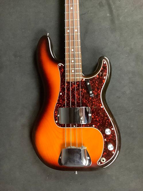 1997 American Standard P-Bass -  3-Tone Sunburst