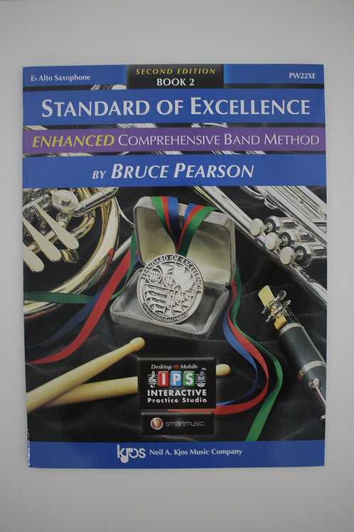 Standard Of Excellence: Enhanced Comprehensive Band Method, Alto Sax Book 2