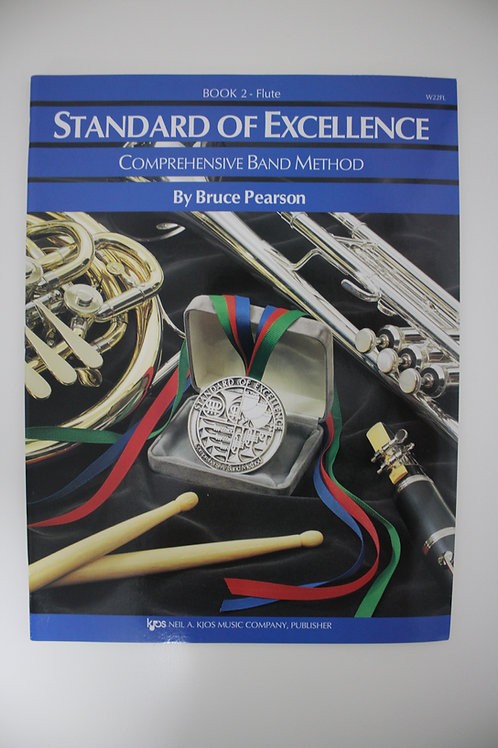 Standard Of Excellence: Comprehensive Band Method, Flute Book 2