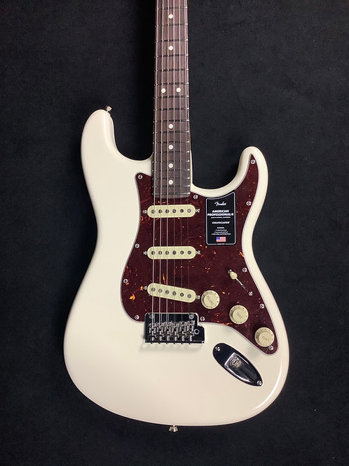 Fender American Professional ll Stratocaster - Olympic White