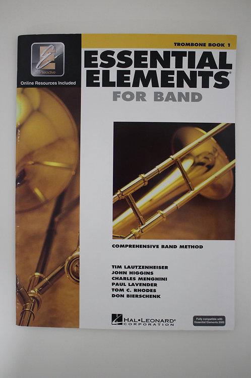 Essential Elements: Comprehensive Band Method, Trombone Book 1