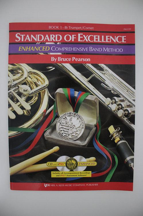 Standard Of Excellence: Enhanced Comprehensive Band Method, Trumpet Book 1