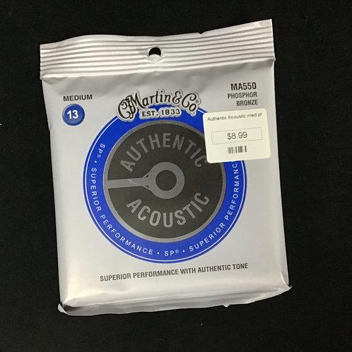 Martin authentic Acoustic medium-13 Phosphor bronze