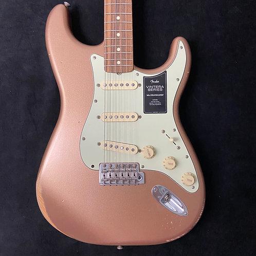 Fender Limited Edition Vintera Road Worn 60s Stratocaster - Firemist Gold