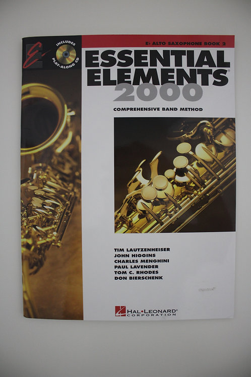 Essential Elements: Comprehensive Band Method, Alto Sax Book 2