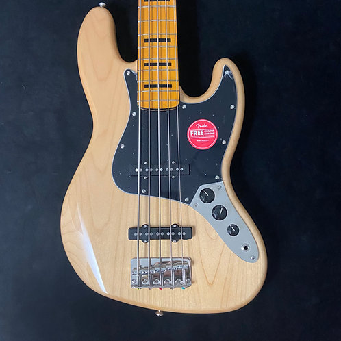 Squier Classic Vibe 70s Jazz Bass V - Natural