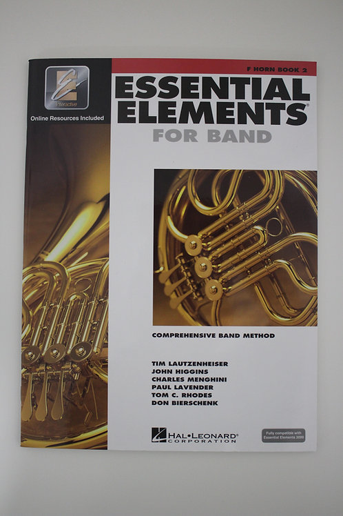 Essential Elements: French Horn Book 2