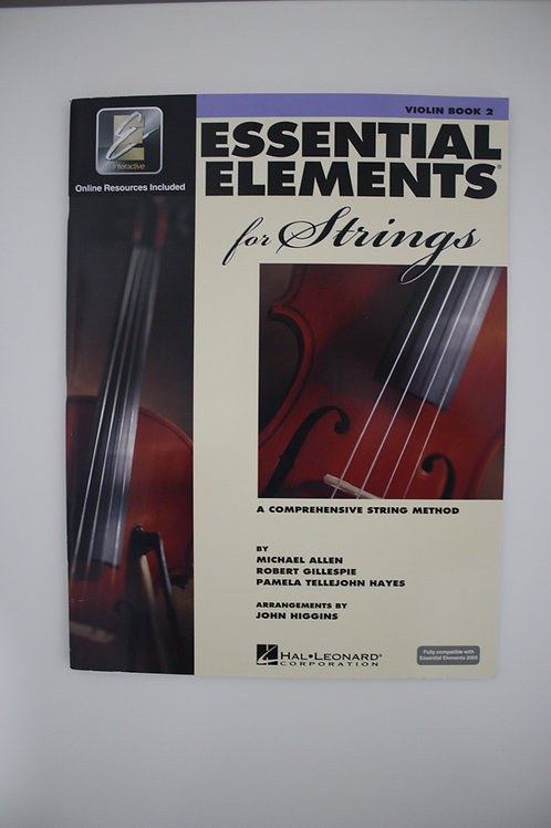 Essential Elements: A Comprehensive String Method, Violin Bk. 2(Saxe, 6th & 7th)