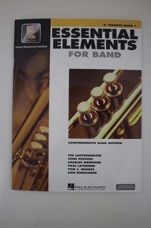 Essential Elements: Comprehensive Band Method, Trumpet Book 1