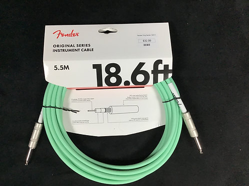 Fender Original Series 18.6 Surf Green Cable