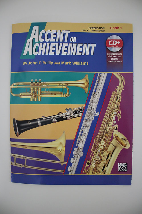 Accent On Achievement, Percussion