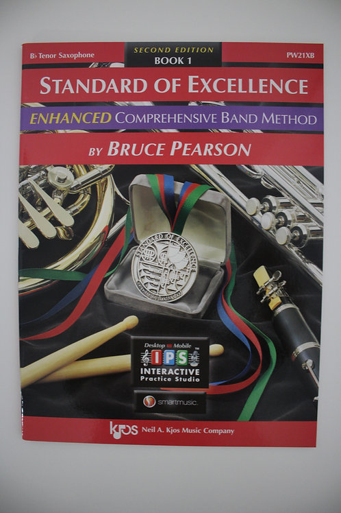 Standard Of Excellence: Enhanced Comprehensive Band Method, Tenor Sax Book 1