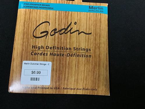 Merlin Dulcimer Strings Godian