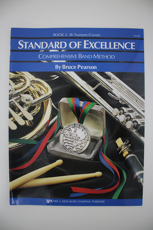 Standard Of Excellence: Comprehensive Band Method, Trumpet Book 2