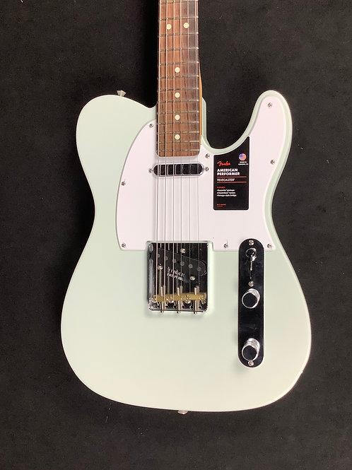Fender American Performer Strat Sonic Blue Satin Finish