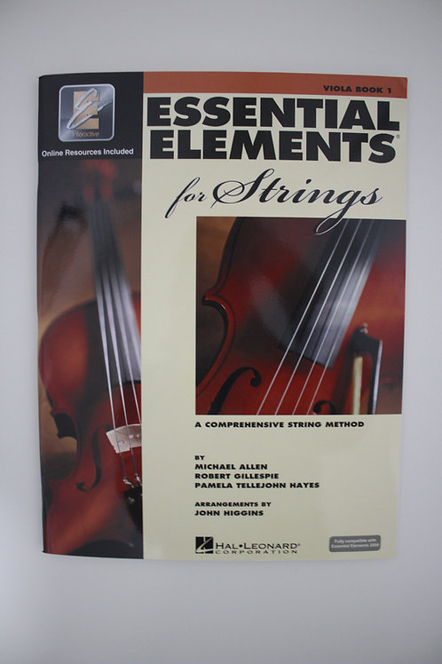 Essential Elements: A Comprehensive String Method, Viola Book 1 (Saxe, 5th)