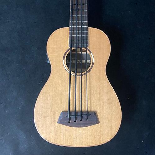 Kala UBASS-SCP-F Solid Cedar & Pau Ferro U-Bass