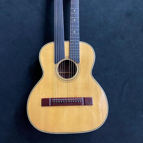 1920s Harmony Supertone Double Neck Guitar