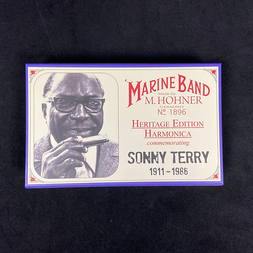 Hohner Marine Band Sonny Terry Harmonica