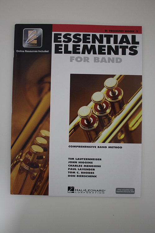 Essential Elements: Comprehensive Band Method, Trumpet Book 2
