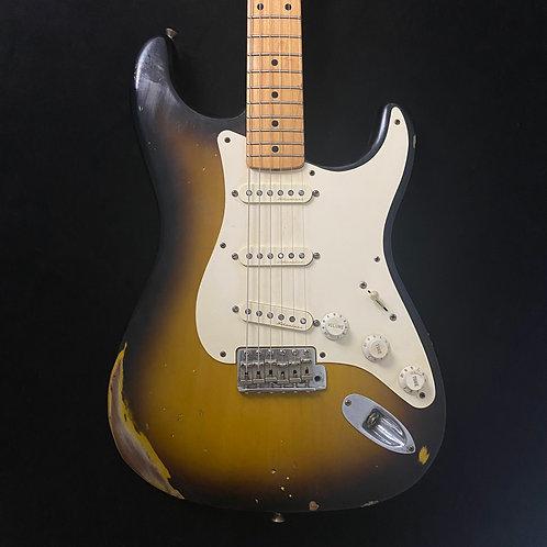 2004 Fender Custom Shop 1956 Stratocaster Reissue, Relic - 2-Tone Sunburst