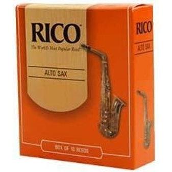 Rico Alto Sax Reeds - 10 Pack