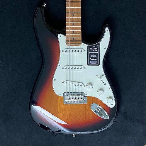 Fender Limited Edition Roasted Player Series Stratocaster - 3-Color Sunburst