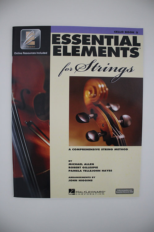 Essential Elements: A Comprehensive String Method, Cello Book 2 (Saxe 6th & 7th)