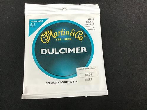 Martin Dulcimer M640 Nickel Wound Standard .012