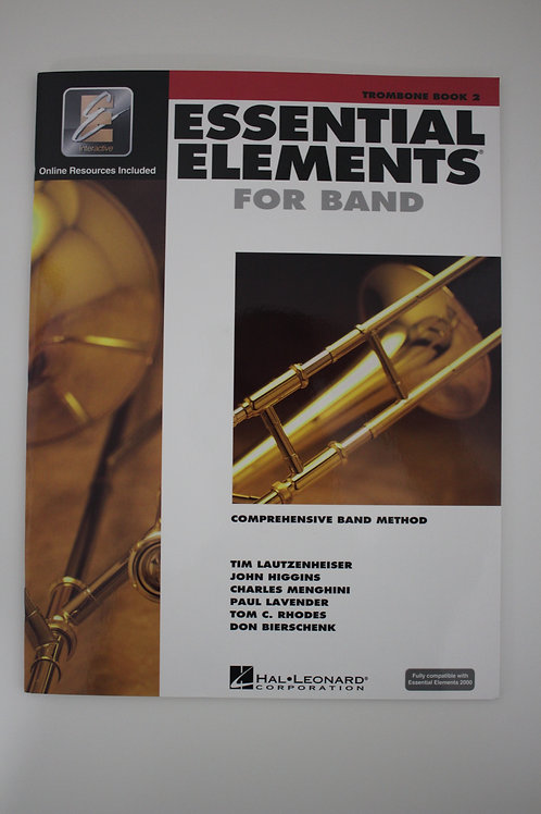Essential Elements: Comprehensive Band Method, Trombone Book 2