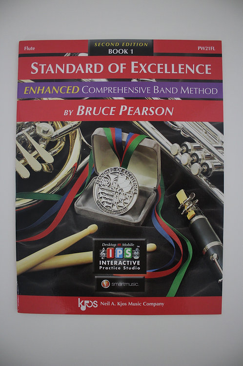 Standard Of Excellence: Enhanced Comprehensive Band Method, Flute Book 1