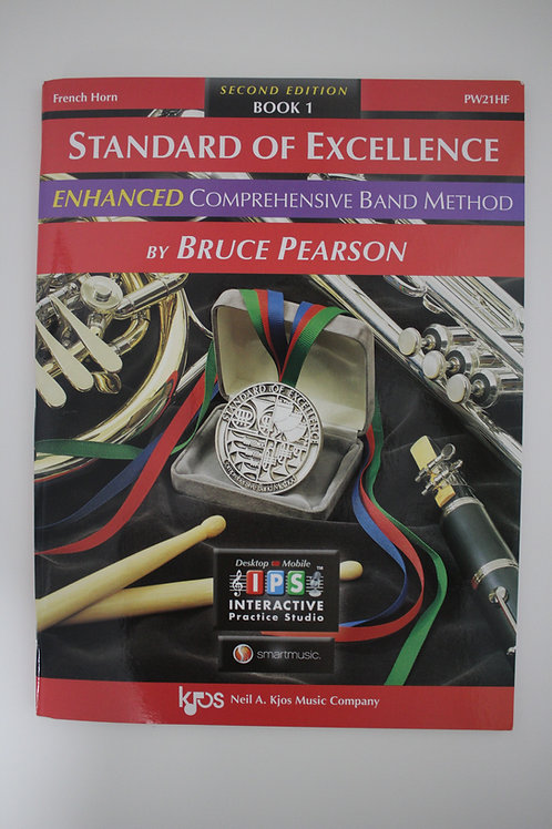Standard Of Excellence: Enhanced Comprehensive Band Method, French Horn Book 1