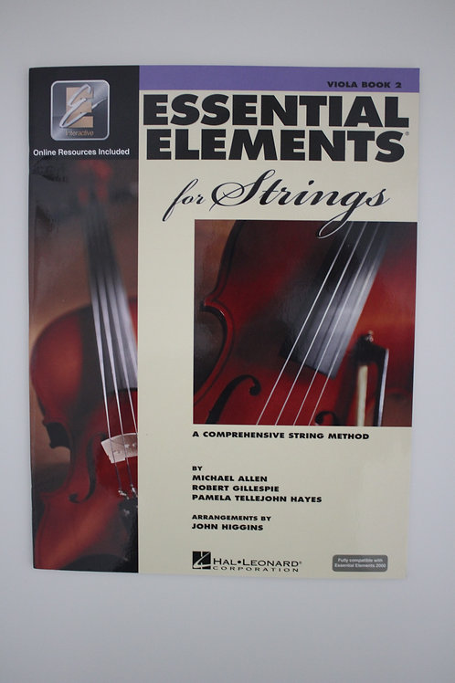 Essential Technique for Strings: Viola Book 3