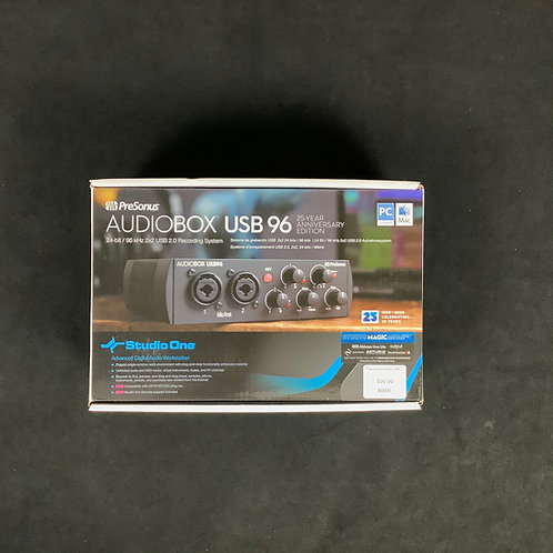 Personus Audiobox USB 96 25th Anniversary Edition